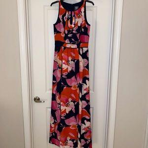 Vince Camuto floral maxi dress